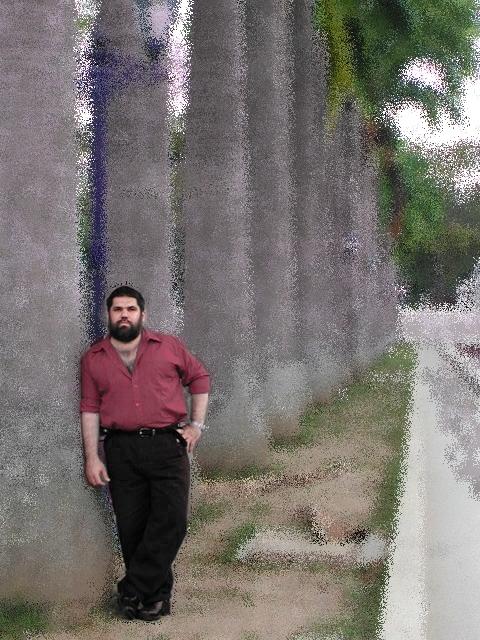 Josán Caballero, en el Paseo de los Próceres, en Venezuela, en diciembre del 2005.
