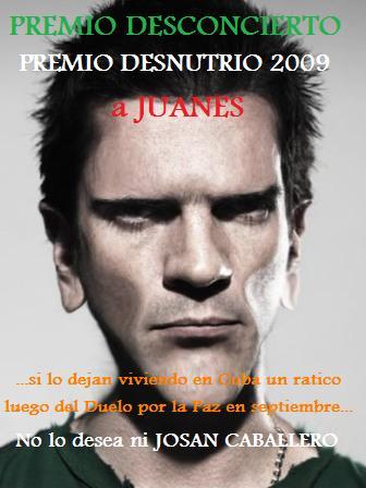 Premio para Juanes de Josan Caballero