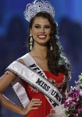 Miss Universo 2009, Stefanía Fernández, la Miss Venezuela.