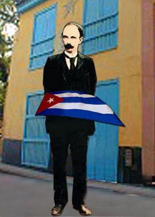 José Martí, El abanderado, de Margarita García Alonso.