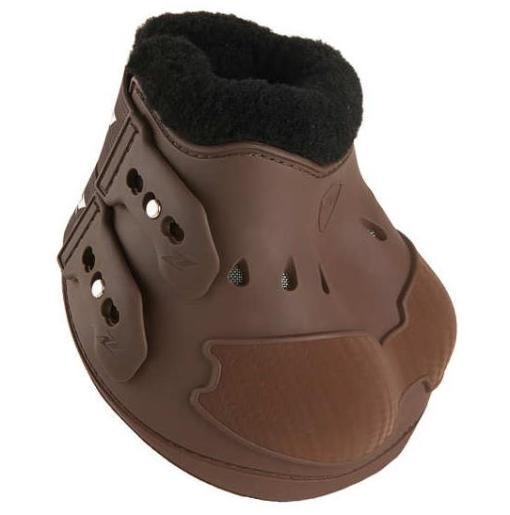 Zandon Carbon Air Heel Hufglocken braun