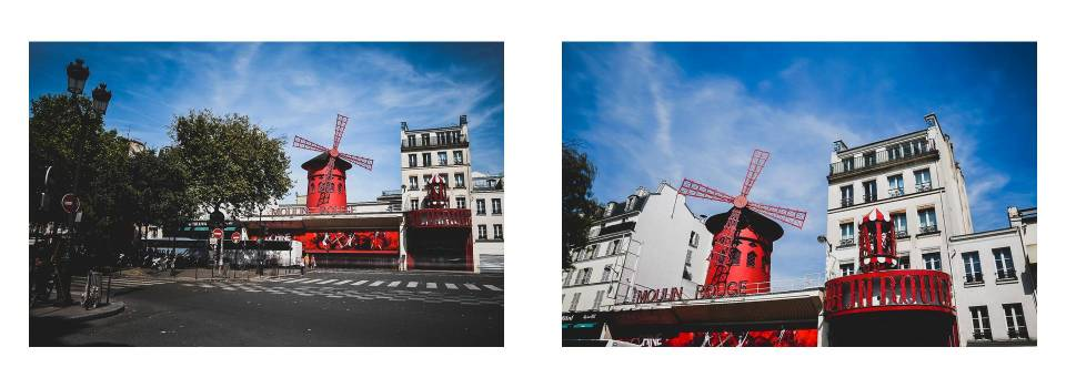 Live your Life - París - Montmartre - Le Moulin Rouge