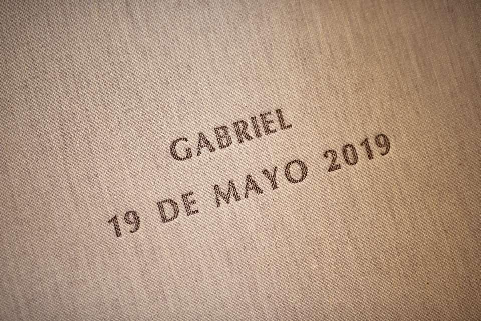 Álbum de Primera Comunión. Gabriel