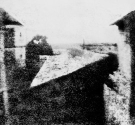La primera fotografía de la historia - View from the Window at Le Gras - Joseph Nicéphore Niépce