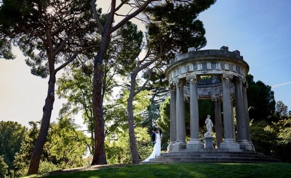Postboda en el Jardín de Capricho - Mario y María