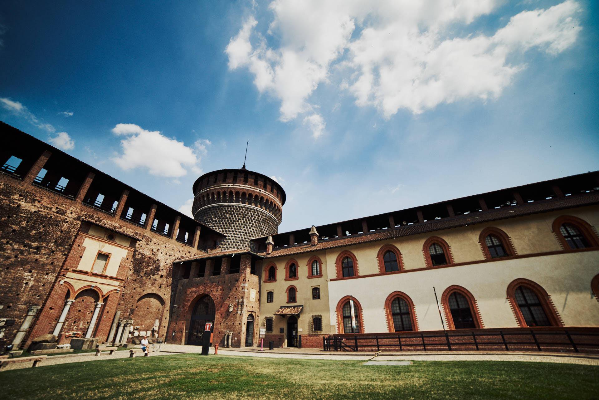 Castelo Sforzesco - Milán - José Álvarez Fotografía