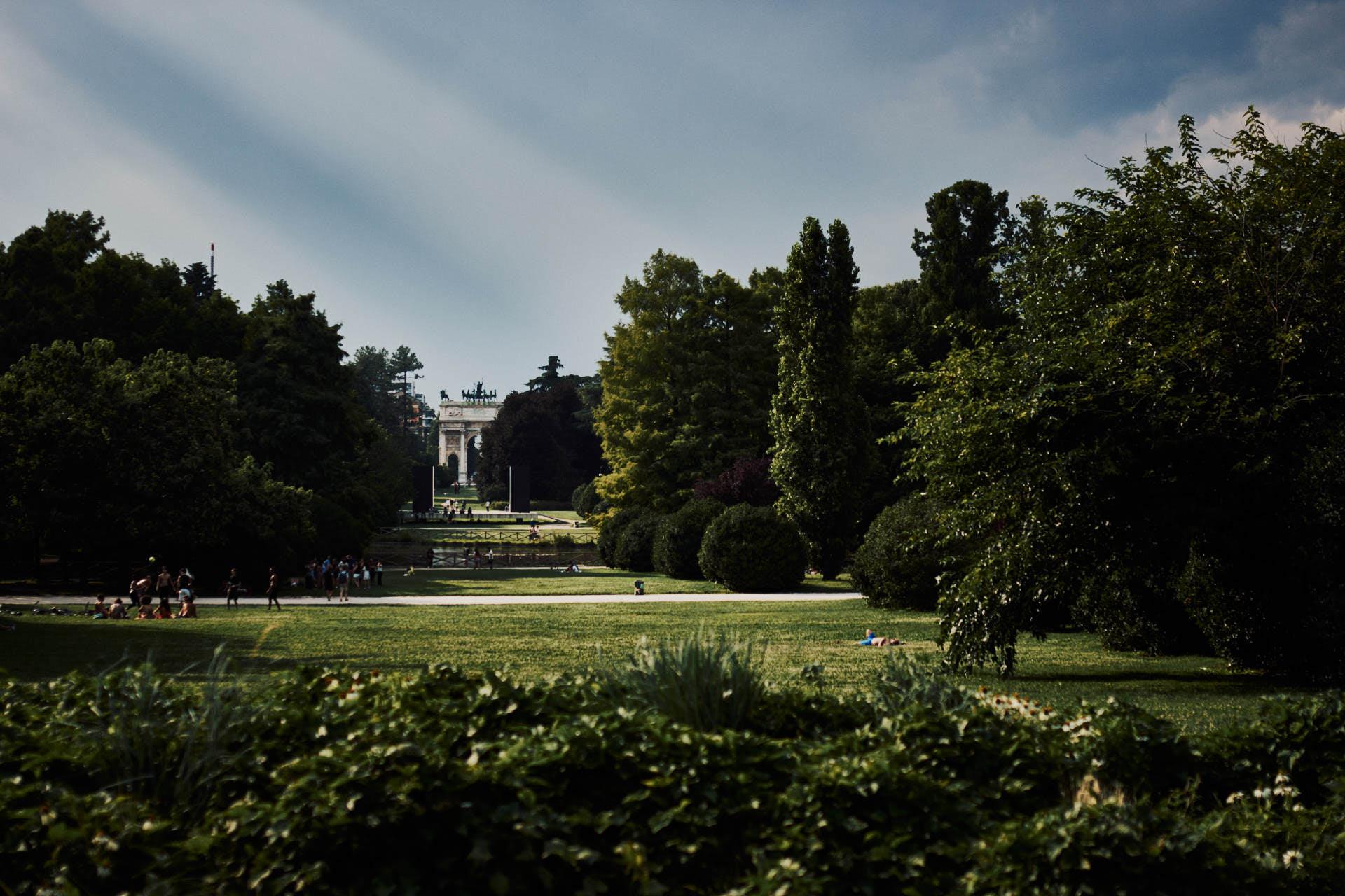 Parque Sempione - Milán - José Álvarez Fotografía