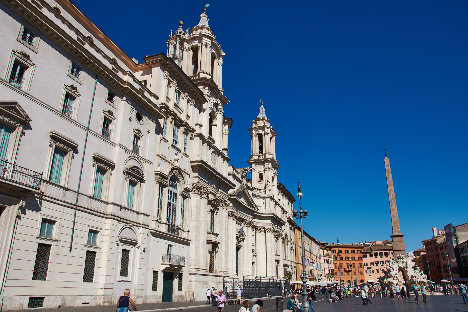 Piazza Navonna - Roma - José Álvarez Fotografía