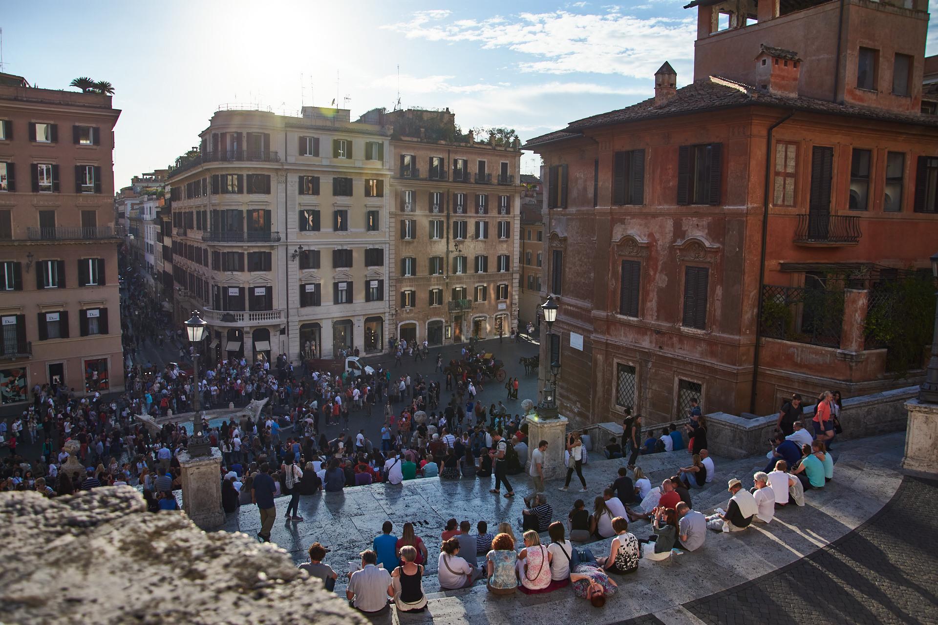 Piazza de España - Roma - José Álvarez Fotografía