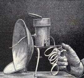 Lámpara de Magnesio - Historia de la Fotografía