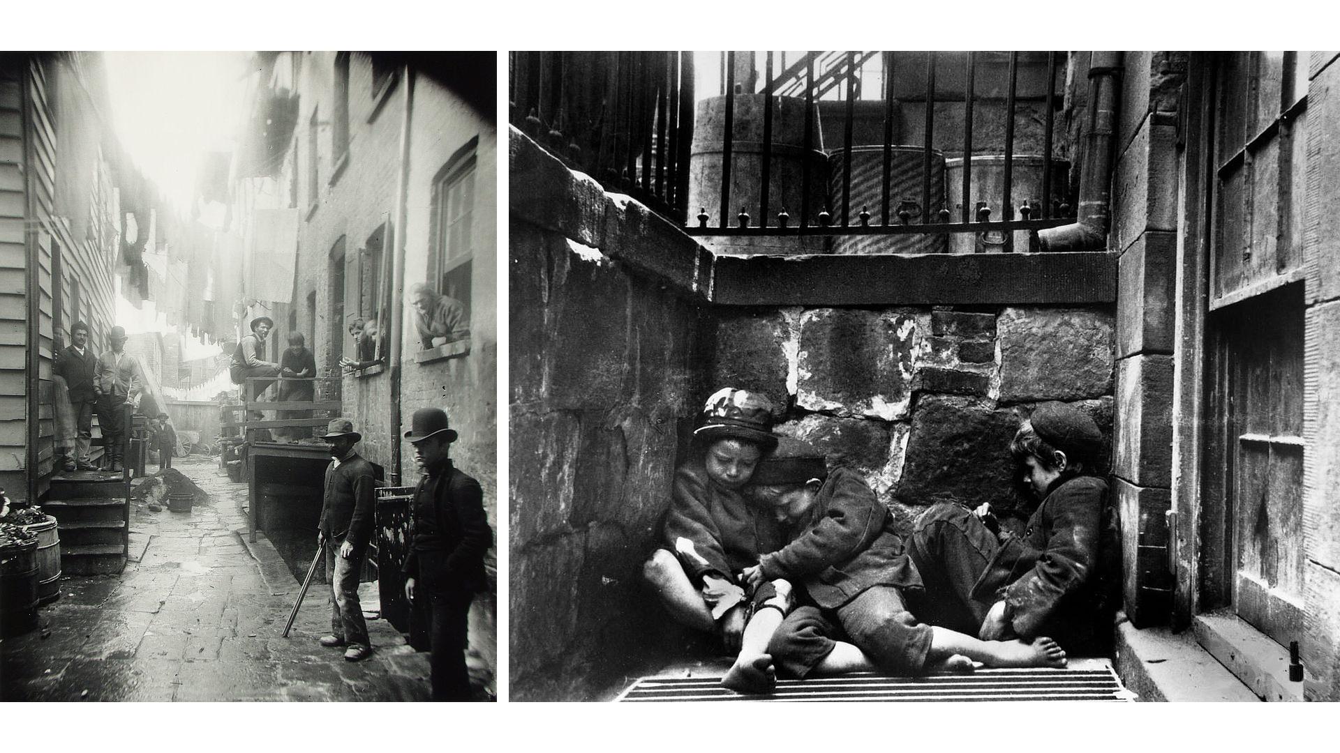 Jacob Riis - Historia de la Fotografía - José Álvarez Fotografía