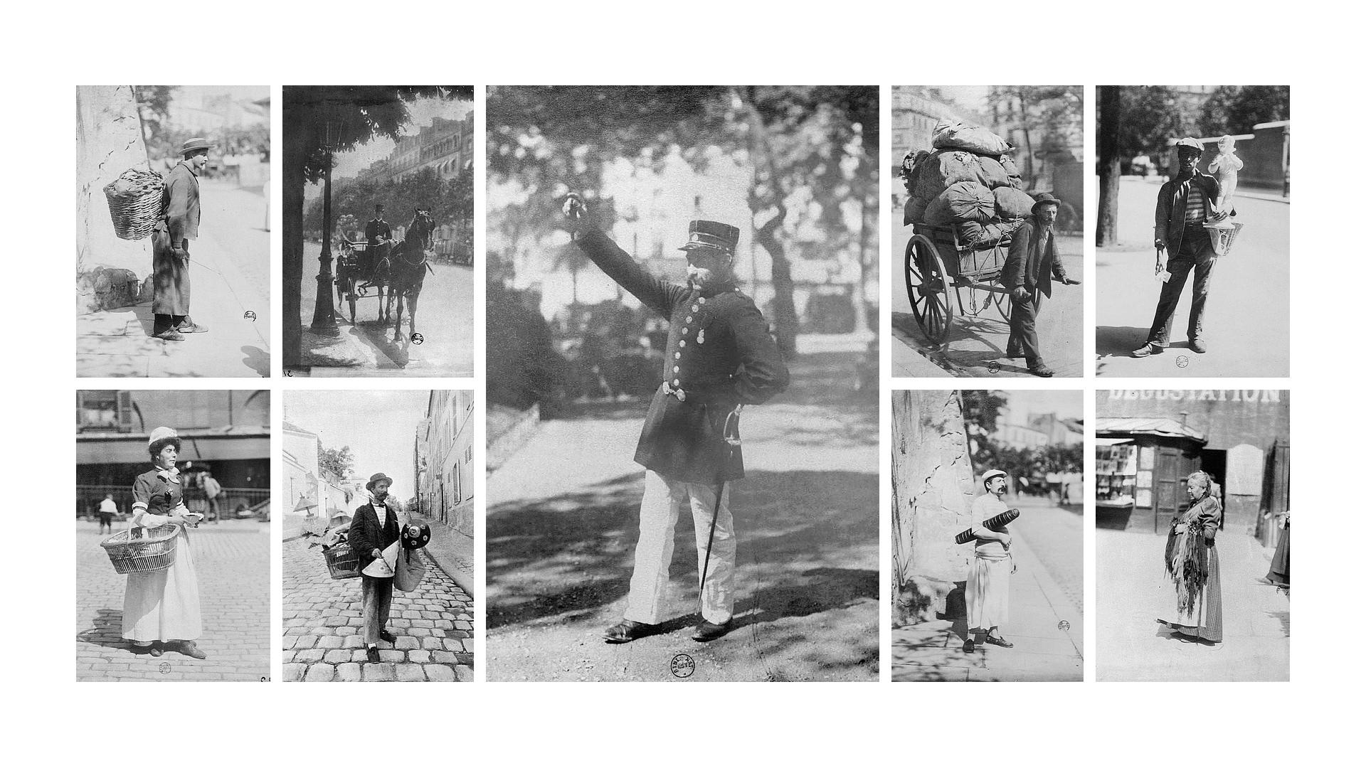 Eugène Atget - Les Petites Métiers - Historia de la Fotografía - José Álvarez Fotografía