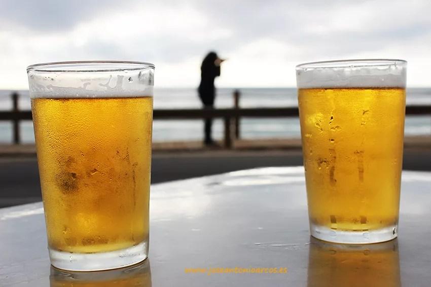 Dos cervezas y Cabo de Gata