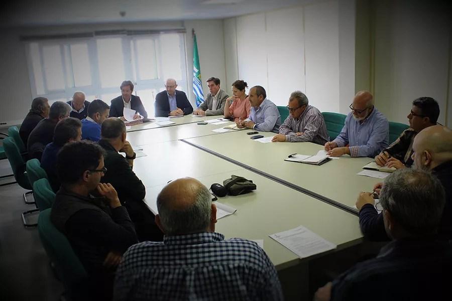 Comisión de Restos Vegetales de El Ejido, ARRAL y Antonio Ufarte