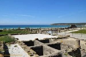 Yacimiento arqueológico de Bolonia, en Tarifa, Cádiz
