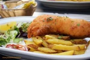 Fish and chips en Giblaltar