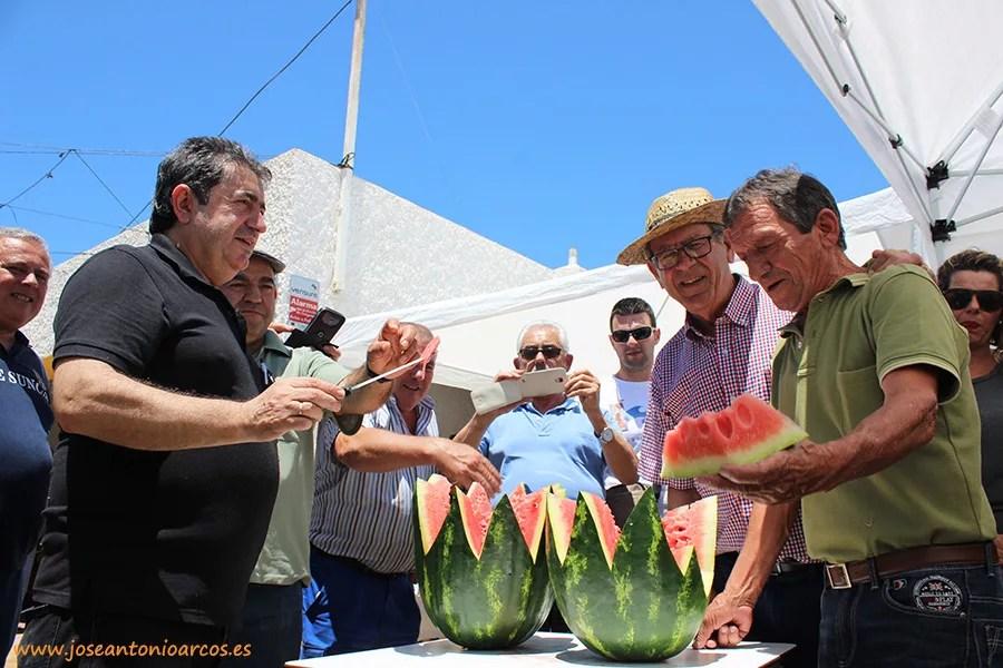 Sandías crimson de Agrinature, casa de semillas de Almería.