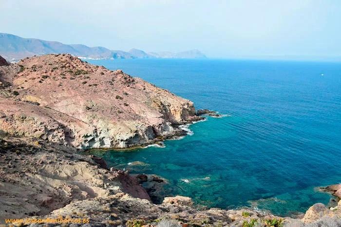 Mediterráneo, aguas de Cabo de Gata, Almería, paraíso natural