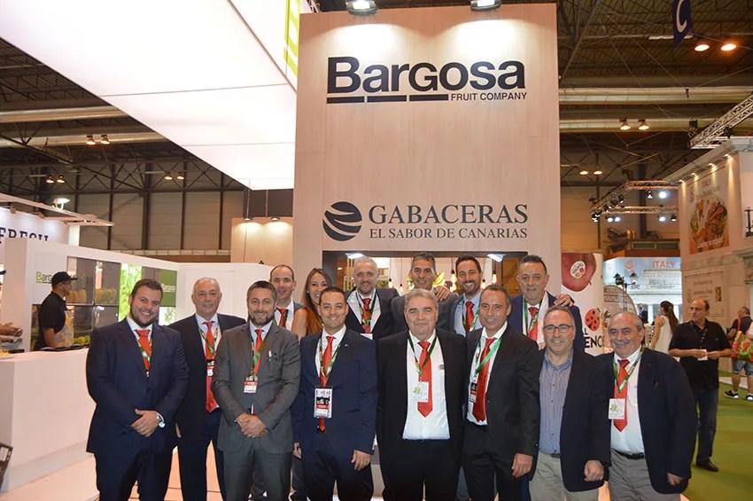 Foto de familia de Bargosa Fruit Company durante la reciente Fruit Attraction 2016.