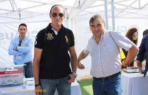 Pedro Prados y Antonio Zamora, agricultores de pimiento de Berja (Almería) en las jornadas de HM Clause.
