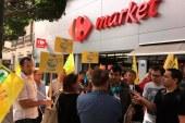 Los productores de leche protestan por los bajos precios
