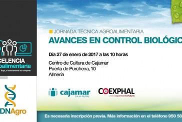 Día 27 de enero. Jornada 'Avances en control biológico'. Almería