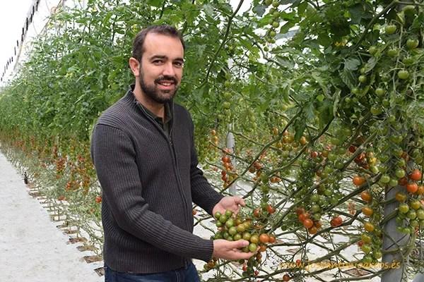 Sergio Medina, técnico-comercial de Zeraim en Granada-Málaga.