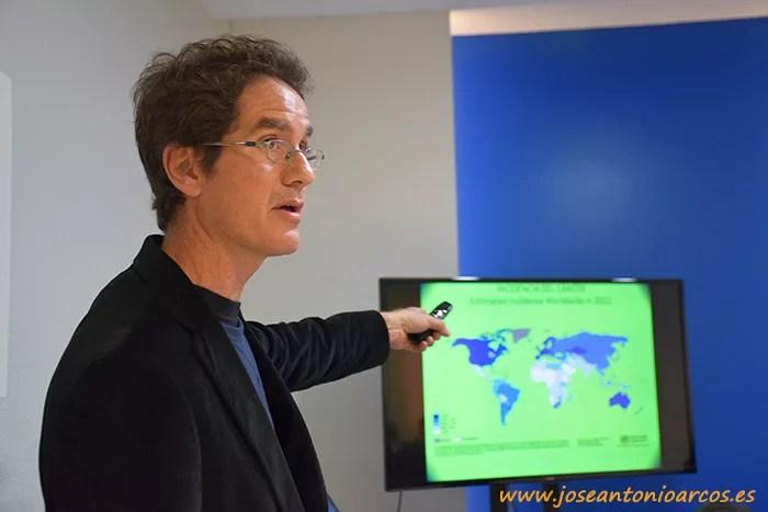 Pablo Campra, científico almeriense y profesor de la UAL.