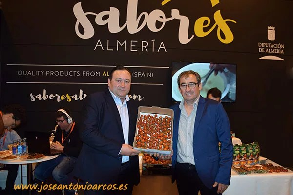 Los amigos de Asaja-Almería no quisieron perderse este evento gastronómico de carácter internacional.
