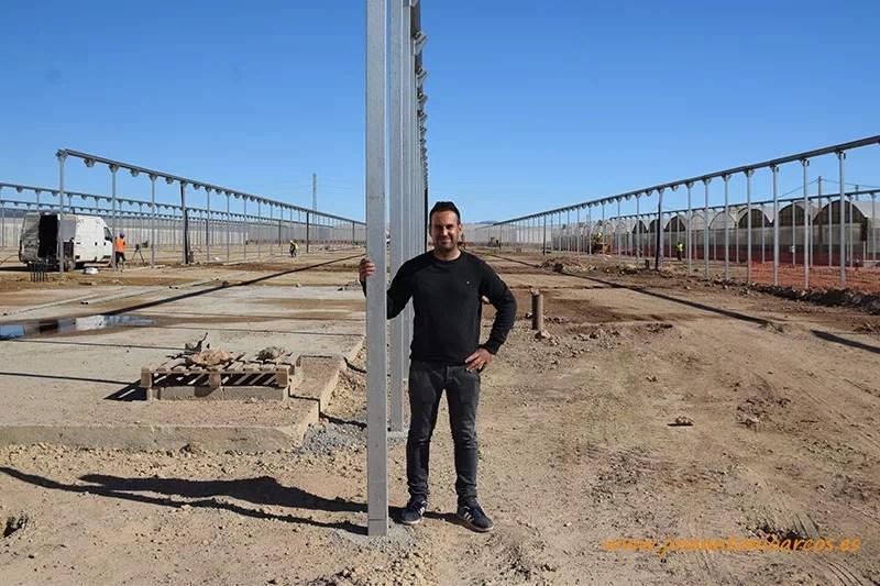 José Francisco Torres, socio y comercial de El Plantel en Níjar.