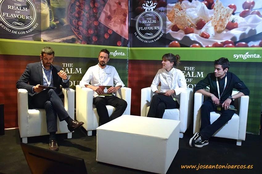 Enrique Sánchez, David Sorroche, Stefie Faust y Pablo Fuente.