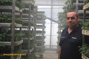 Antonio Jesús Quero Luque, técnico de Semilleros Monteplant.