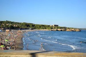 Playa de Tarragona.