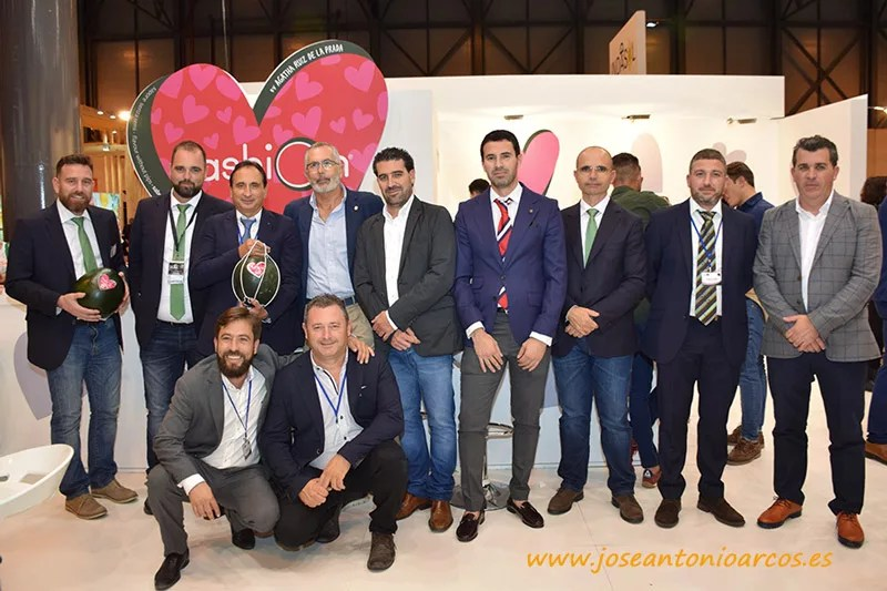 Expositor de Grupo Fashion en Fruit Attraction 2017.