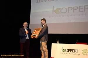 50 Aniversario de Koppert en Vícar. Antonio Bonilla, alcalde vicario.