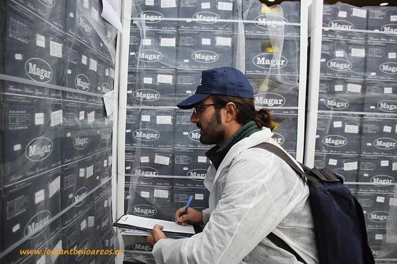 Francisco Cano, técnico de Agrocolor.