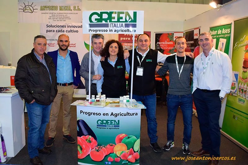 Equipo de Green Has y de Antonio Mena.