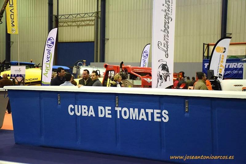 Agroexpo en Don Benito. El tomate de industria en Badajoz, Extremadura.