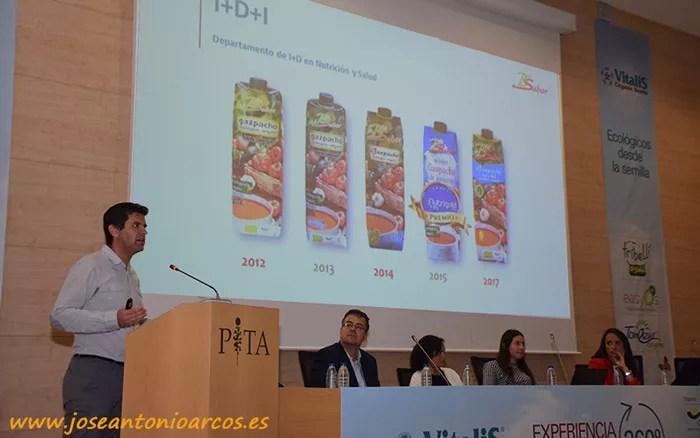 Francisco Javier Nuñez, representante del departamento de I+D+i de Biosabor.
