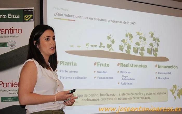 Nuria García, mejoradora.