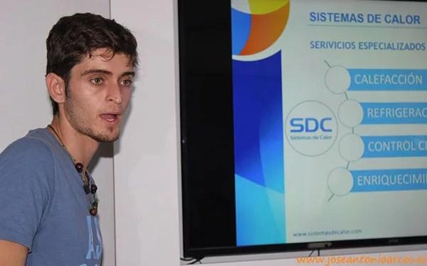 Diego Montero, ingeniero agrícola de Sistemas de Calor (SDC).