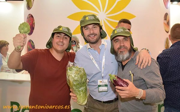 Ramiro Arnedo en Fruit Attraction 2018.