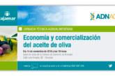 Día 14 de noviembre. Economía y comercialización del aceite de oliva. Granada