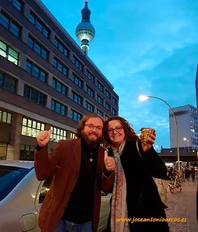 José Antonio Arcos y Ana Rubio. Good Bank, Berlín.