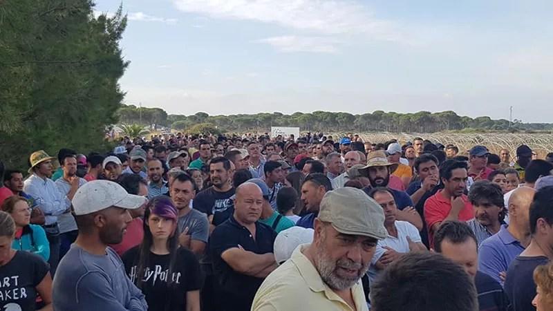 Cierre de pozos agrícolas en Huelva. /joseantonioarcos.es