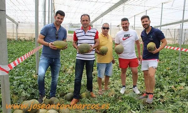 Agricultores almerienses en las jornadas de campo de Ramiro Arnedo. /joseantonioarcos.es