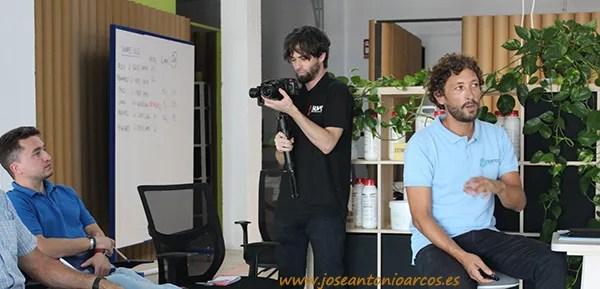 Jornadas de formación en Nostoc Biotech. /joseantonioarcos.es