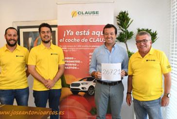 El coche de los pimientos de Clause se sortea por cuarto año