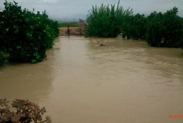 Desbordado el Segura y roto el canal del trasvase Murcia pide Zona Catastrófica