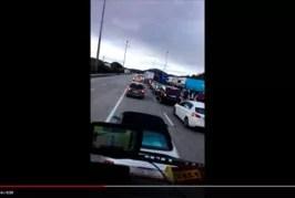 Incertidumbre entre los transportistas de hortalizas en la Junquera